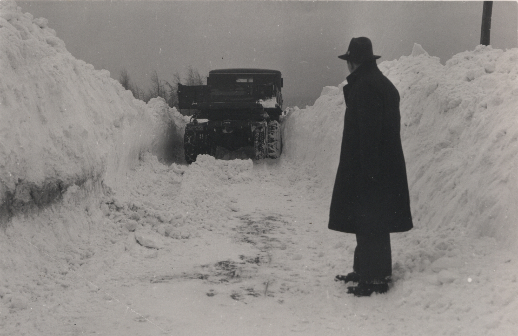 Winter 1953 in Oberreifenberg